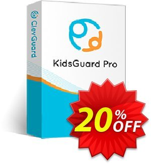 KidsGuard Pro for iOS (1-month plan) discount coupon 20% OFF KidsGuard Pro for iOS, verified - Dreaded promo code of KidsGuard Pro for iOS, tested & approved