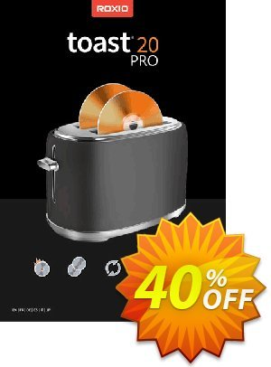 Roxio Toast 19 Pro割引コード・47% OFF Toast 18 Pro, verified キャンペーン:Excellent discounts code of Toast 18 Pro, tested & approved