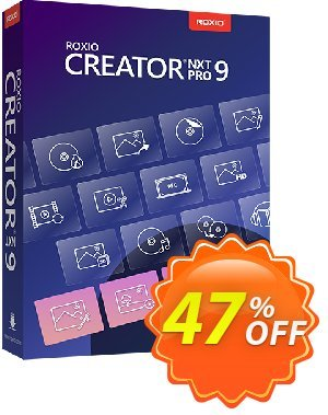 Roxio Creator NXT Pro 7 프로모션 코드 40% OFF Roxio Creator NXT Pro 7, verified 프로모션: Excellent discounts code of Roxio Creator NXT Pro 7, tested & approved