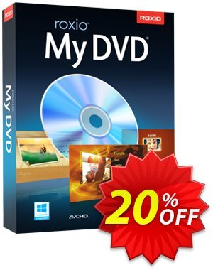 Roxio MyDVD Coupon, discount 20% OFF Roxio MyDVD, verified. Promotion: Excellent discounts code of Roxio MyDVD, tested & approved
