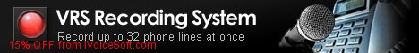 Coupon code for VRS Recording System