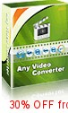 Coupon code for Any Video Converter Pro.