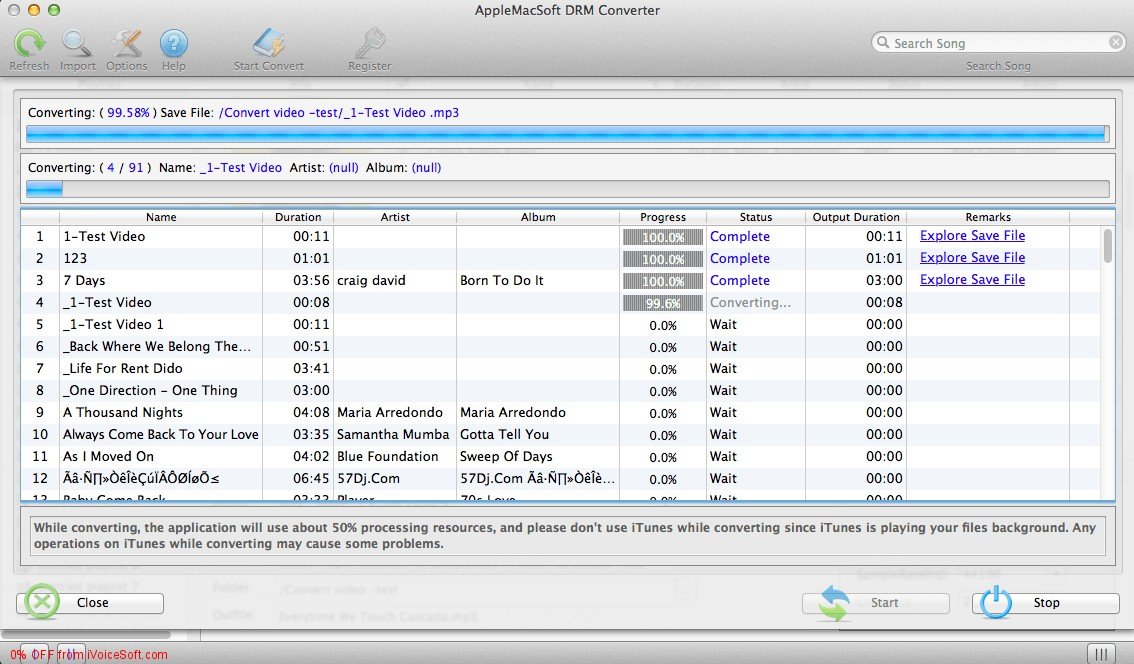 Coupon code for Easy DRM Converter for Mac
