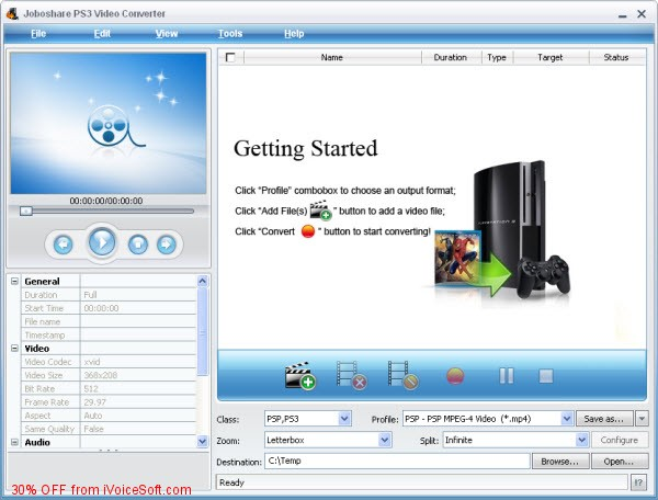 Coupon code for Joboshare PS3 Video Converter