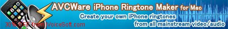 Coupon code for AVCWare iPhone Ringtone Maker for Mac