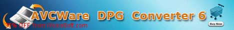 Coupon code for AVCWare DPG Converter6