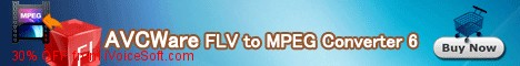 Coupon code for AVCWare FLV to MPEG Converter 6
