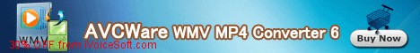 Coupon code for AVCWare WMV MP4 Converter 6