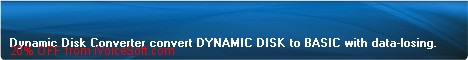 Coupon code for Dynamic Disk Converter Pro