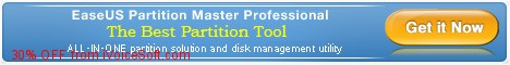 Coupon code for EaseUS Partition Master Professional