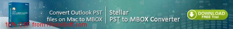 Coupon code for Stellar Outlook PST to MBOX Converter - Mac