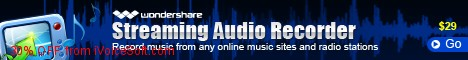 Coupon code for Wondershare Streaming Audio Recorder for Windows