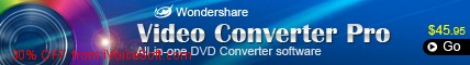 Coupon code for Wondershare Video Converter Pro