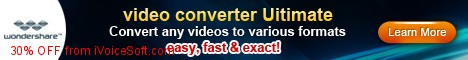 Coupon code for Wondershare Video Converter Ultimate