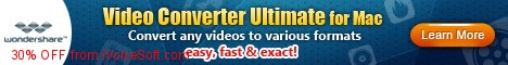 Coupon code for Wondershare Video Converter Ultimate (Mac)