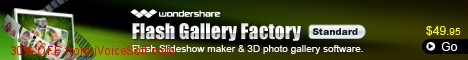 Coupon code for Wondershare Flash Gallery Factory Standard for Windows