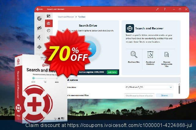 Get 26% OFF iolo Search and Recover promo