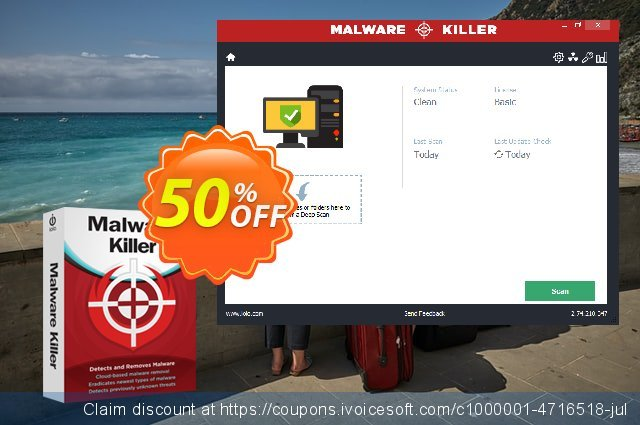 iolo Malware Killer discount 23% OFF, 2020 New Year offering discount