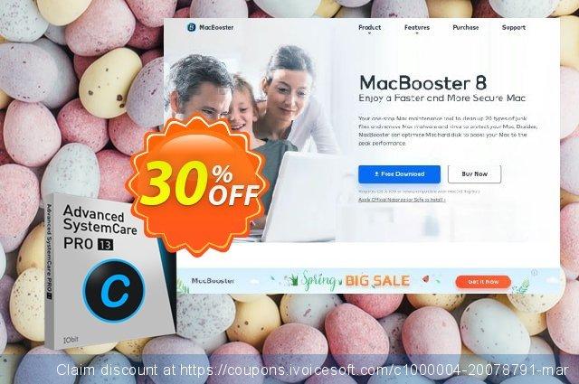 Advanced SystemCare PRO (6 Months / 3 PCs) aufregende Außendienst-Promotions Bildschirmfoto