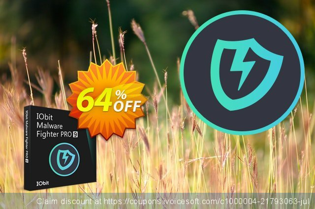 IObit Malware Fighter 7 PRO (3 PCs / 1 Year Subscription)令人惊讶的产品销售 软件截图