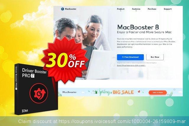 Driver Booster 7 PRO with Start Menu 8 PRO 令人印象深刻的 促销 软件截图