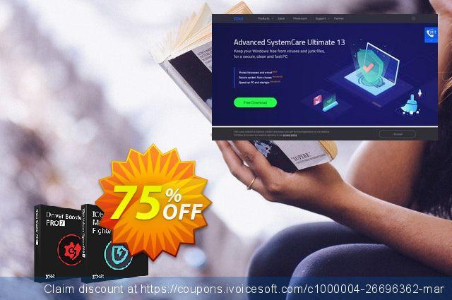 2019 IObit Black Friday: Driver Booster PRO + IObit Malware Fighter PRO 令人难以置信的 产品销售 软件截图