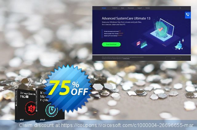 2019 IObit Black Friday: Driver Booster 7 PRO + IObit Malware Fighter 7 PRO (3 PCs)  놀라운   매상  스크린 샷