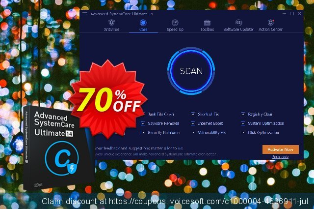 Advanced SystemCare Ultimate 13 discount 58% OFF, 2020 Back to School promo offer