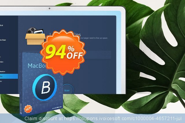MacBooster 8 (3 Macs) discount 94% OFF, 2020 College Student deals offering sales