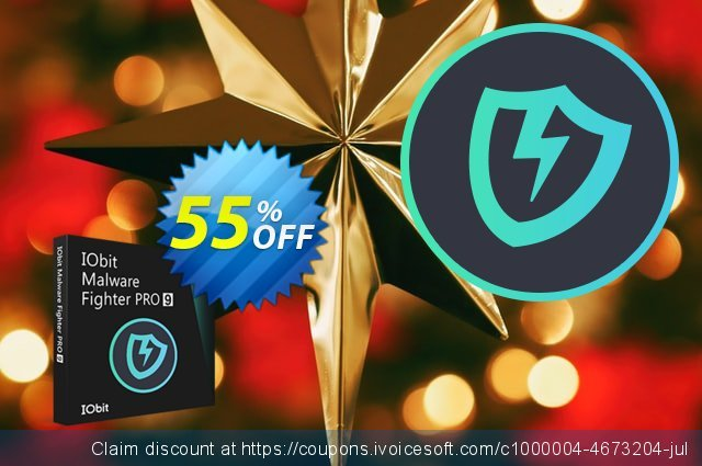 IObit Malware Fighter 8 PRO discount 88% OFF, 2020 Halloween promo sales