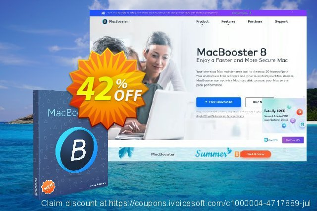 MacBooster 7 Premium (5 Macs/Lifetime) 惊人的 促销 软件截图