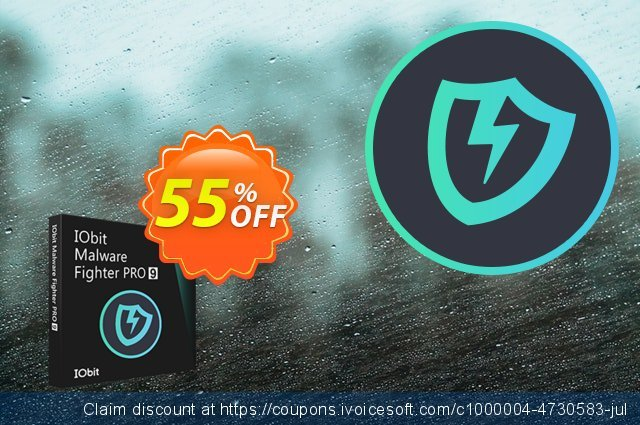 IObit Malware Fighter 7 PRO (1 year / 1 PC) discount 30% OFF, 2019 Labour Day deals