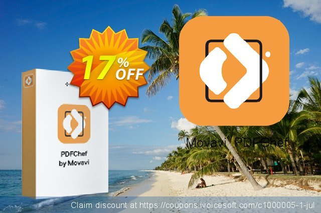 Movavi PDF Editor Lifetime license for 3 PCs 令人印象深刻的 促销 软件截图