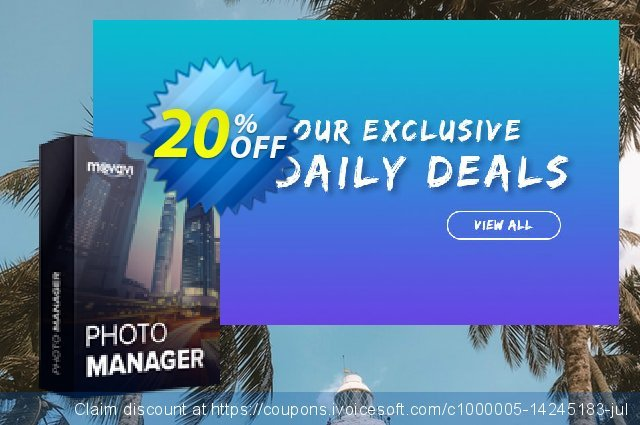 Movavi Photo Manager - Business discount 20% OFF, 2020 Back to School promo discount