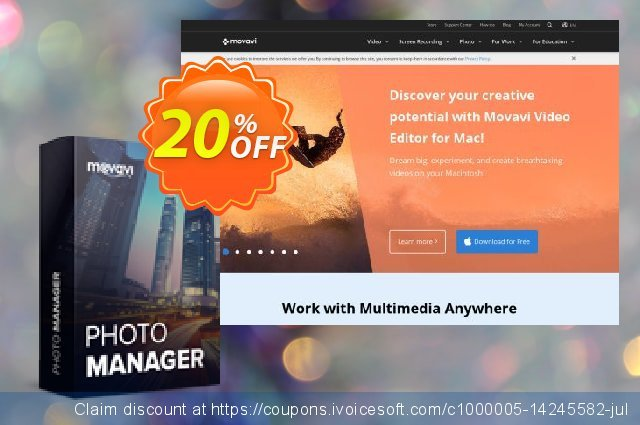 Movavi Photo Manager for Mac - Business discount 20% OFF, 2020 Halloween offering discount