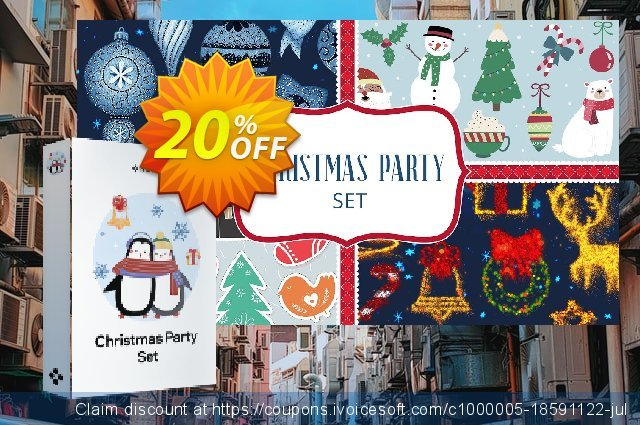 Movavi effect Christmas Party Set discount 20% OFF, 2020 Exclusive Student discount offering sales