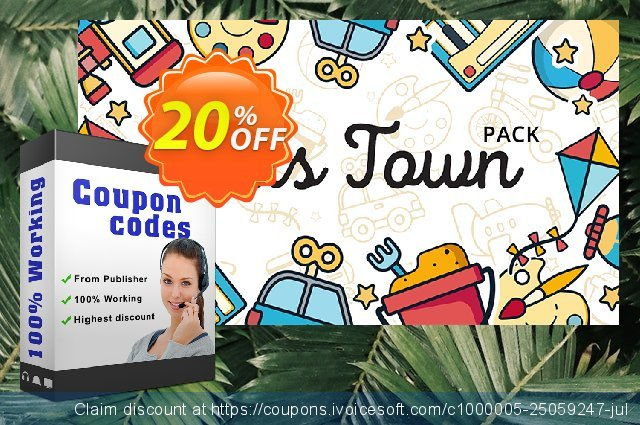 Movavi Effect Kids Town Pack discount 20% OFF, 2020 Student deals promo
