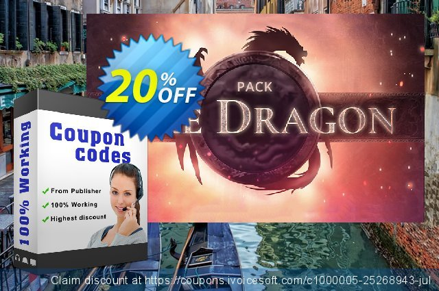 Movavi effect Fire Dragon Pack discount 20% OFF, 2020 Back to School promotion deals