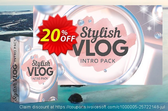 Movavi Effect Stylish Vlog Intro Pack discount 20% OFF, 2020 Back-to-School promotions discounts