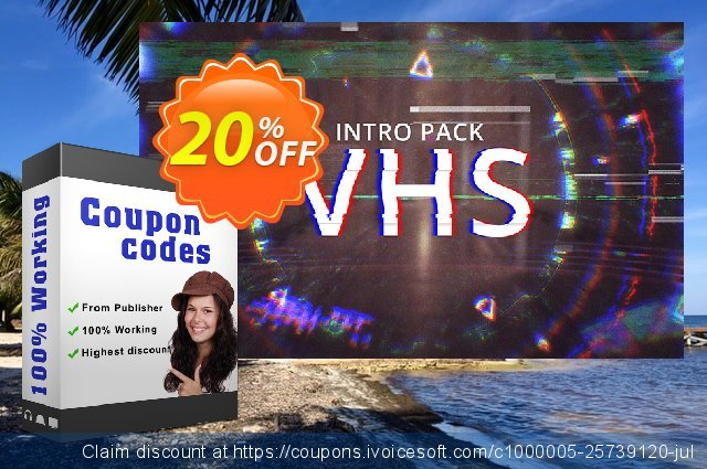 Movavi Effect VHS Intro Pack discount 20% OFF, 2020 Back to School season offering discount