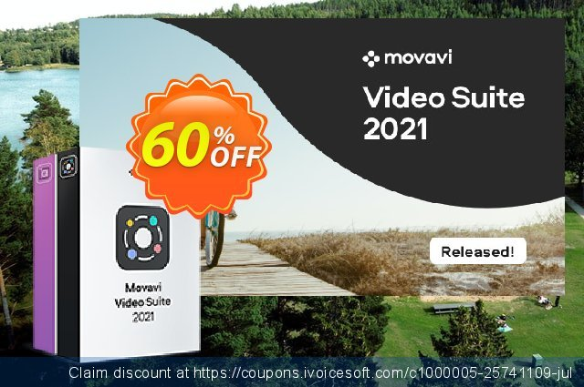 Movavi Bundle: Video Suite + Photo Editor for MAC discount 20% OFF, 2020 Halloween promotions