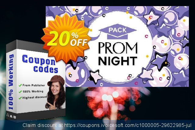 Movavi effect: Prom Night Pack discount 20% OFF, 2020 Back to School coupons discount