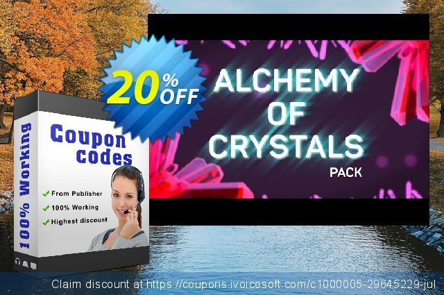 Movavi effect: Alchemy of Crystals Pack discount 20% OFF, 2020 Exclusive Teacher discount discounts