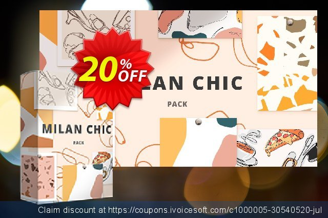 Movavi effect: Milan Chic Pack discount 20% OFF, 2020 Student deals offering sales
