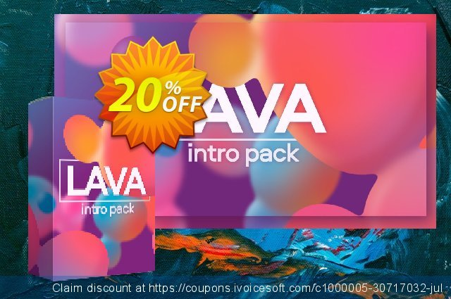 Movavi effect: Lava Intro Pack discount 20% OFF, 2020 Thanksgiving offering sales