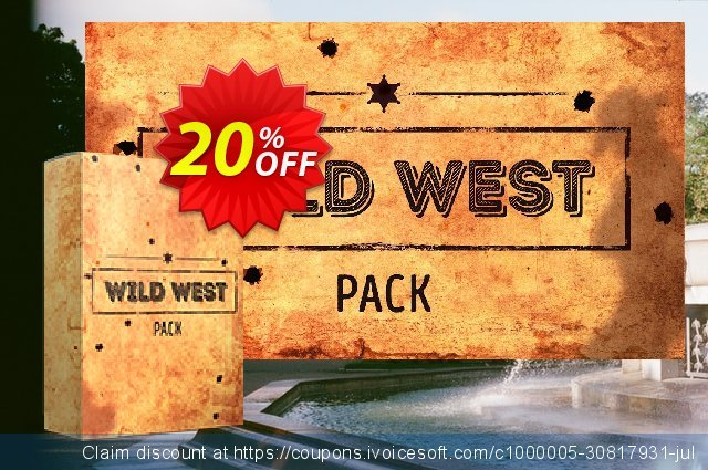 Movavi effect: Wild West Pack discount 20% OFF, 2020 Xmas Day offering discount