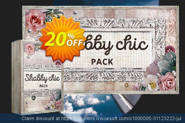 Movavi effect: Shabby Chic Pack discount 20% OFF, 2020 Year-End discount
