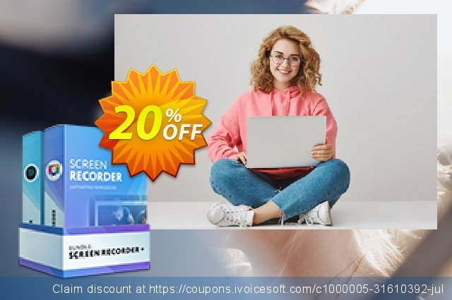 Business Bundle Mac: Screen Recorder + Video Editor Plus discount 20% OFF, 2020 Black Friday offering sales