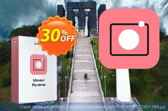 Movavi Picverse Lifetime coupon code. The magnificent offering sales of Movavi Picverse.