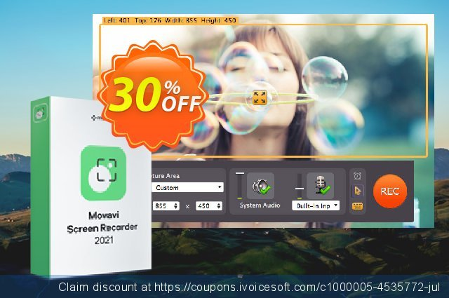 [40% OFF] Movavi Screen Recorder Studio Coupon code on Exclusive Student  deals offering sales, September 2019